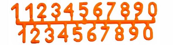 Цифры - Циферки на ульи ЯРКИЙ цвет