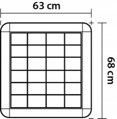ЛАМПА ПАНЕЛЬ СВЕТИЛЬНИК РАСТРОВЫЙ светильник LED 4x60cm