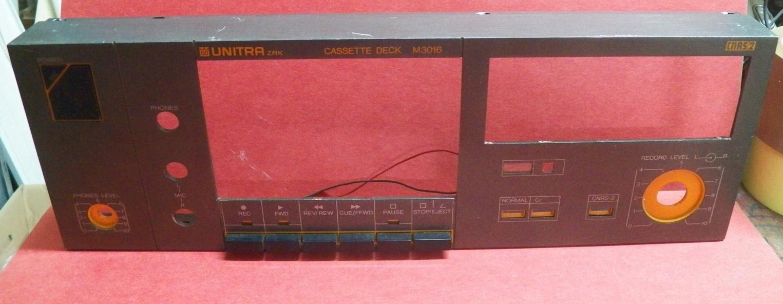 Передняя панель M3016 UNITRA ZRK