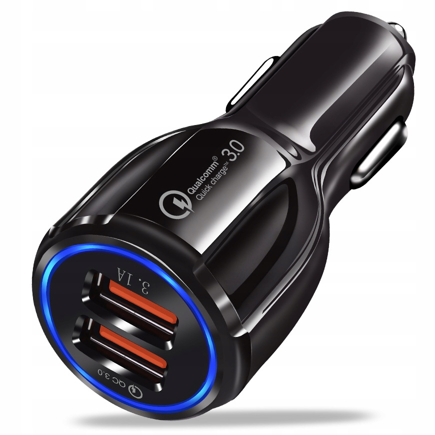 Item FAST 3.1 A CAR CHARGER QUALCOMM QC 3.0