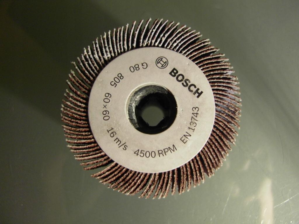 Lamelové koleso Bosch 60 mm, hrúbka 80 pre PRR 250 ES