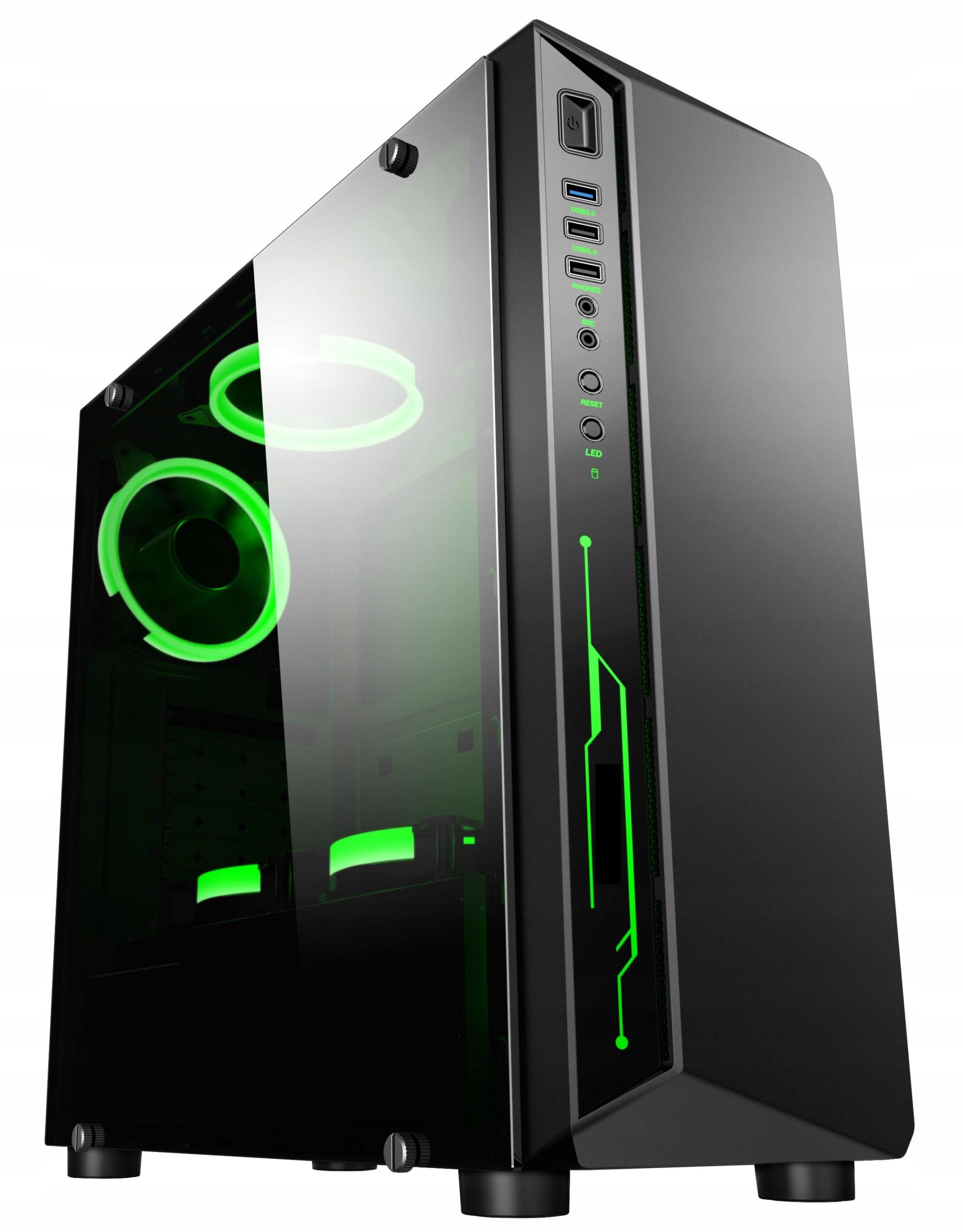 OBUDOWA Gamer Premium model BPC3 USB 3.0, RGB LED
