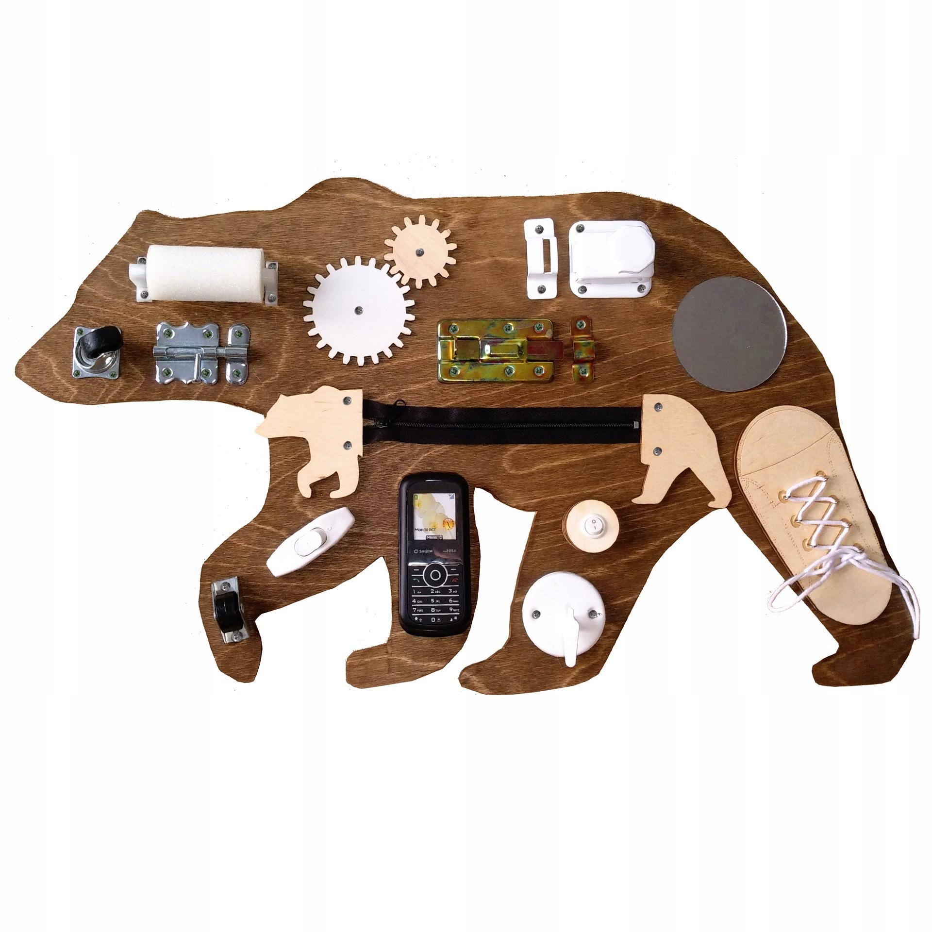 Manipulačná doska BEAR 60x40cm, BEAR