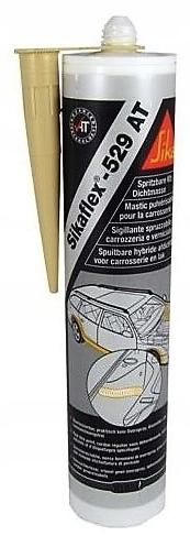 SIKAFLEX 529AT masa natryskowa beżowa SIKA VAUPEL