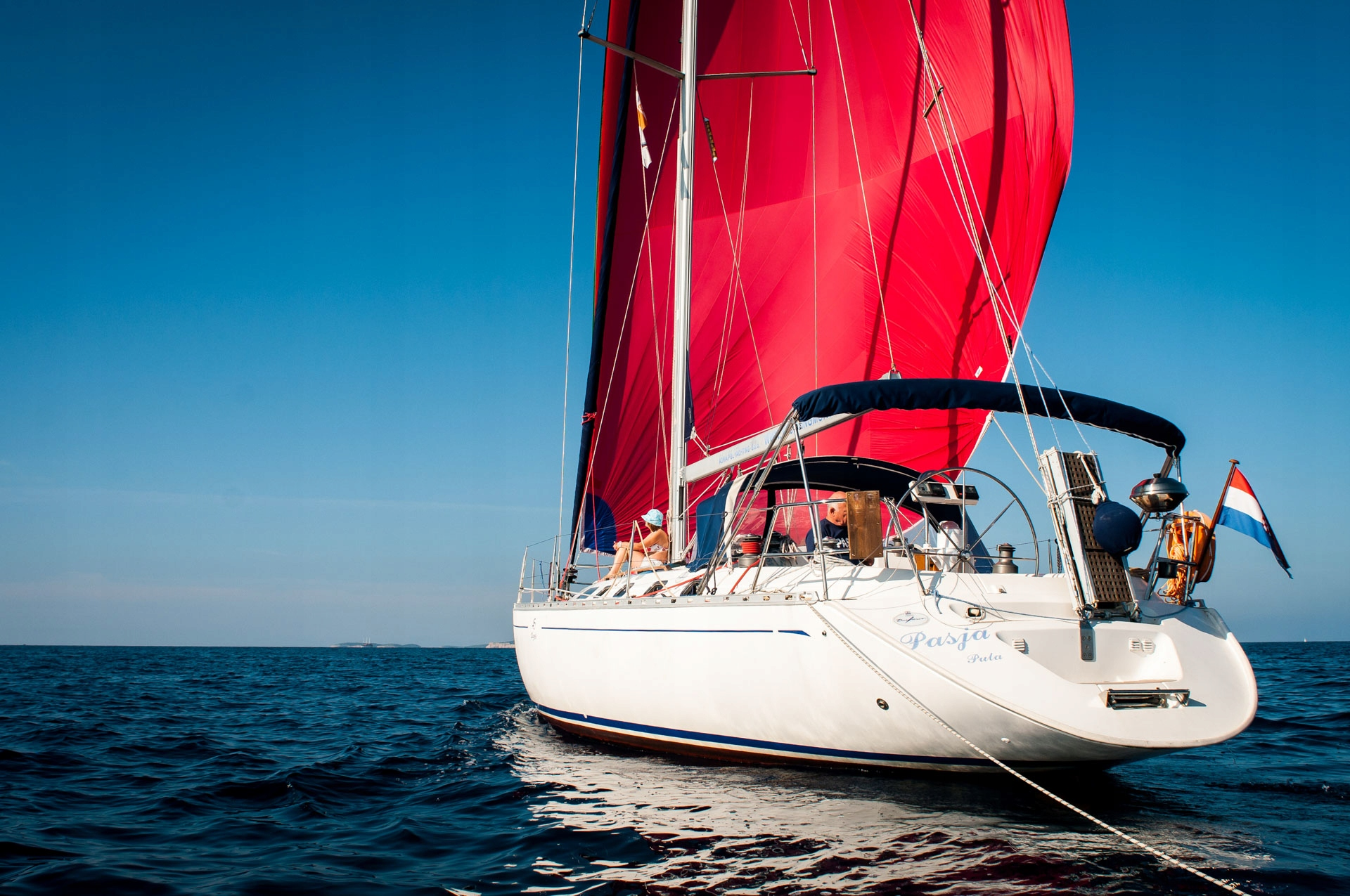 Item Cruises in Croatia on a yacht Dufour 45 Passion