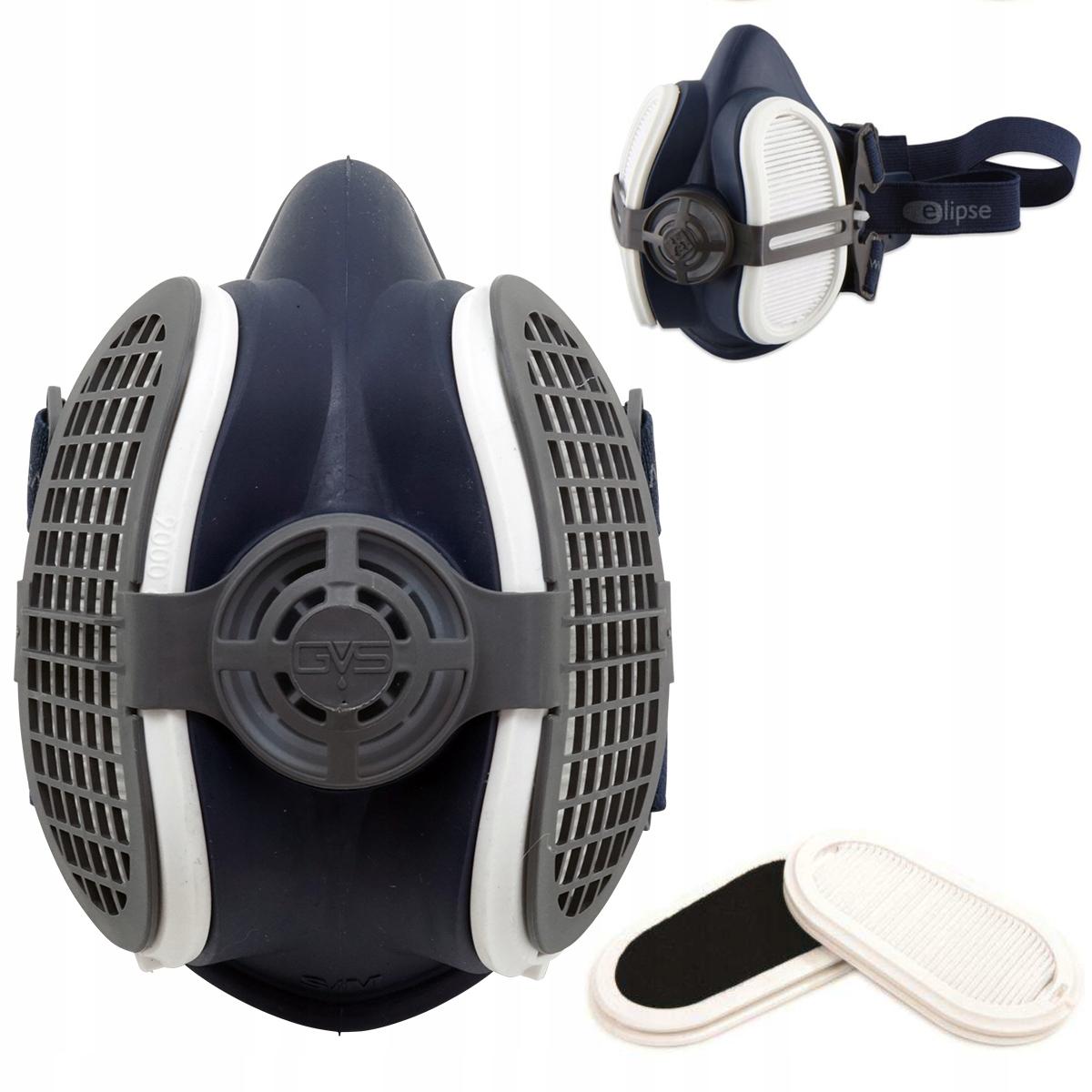 Ochranné polovičné masky Elipse P3 R D s aktívnym uhlím