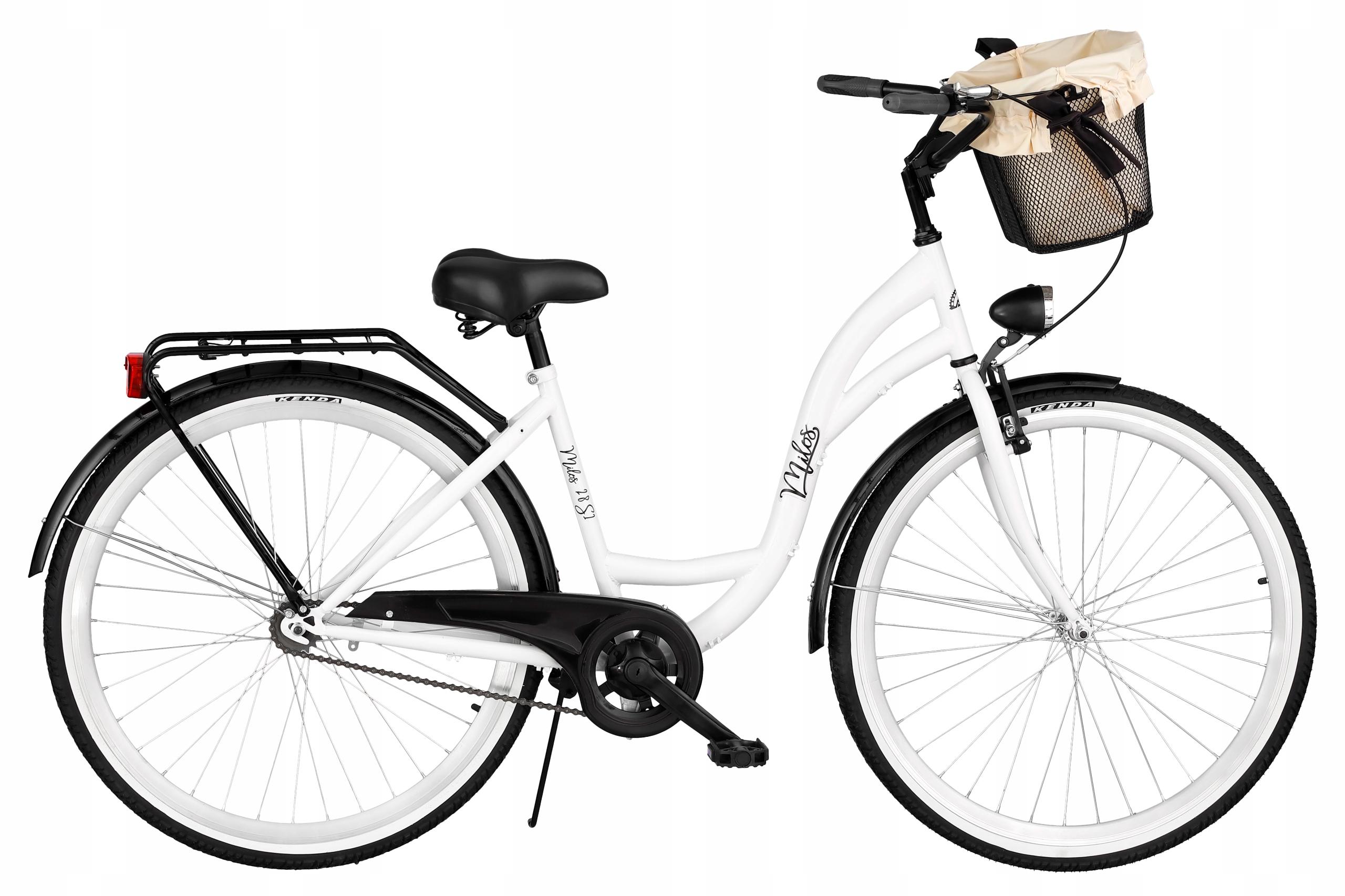 Mestský bicykel MILOS 26 '' kôš S1 + vložka