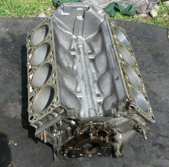 блок двигателя mercedes s-klasa w140 s500 50 v8