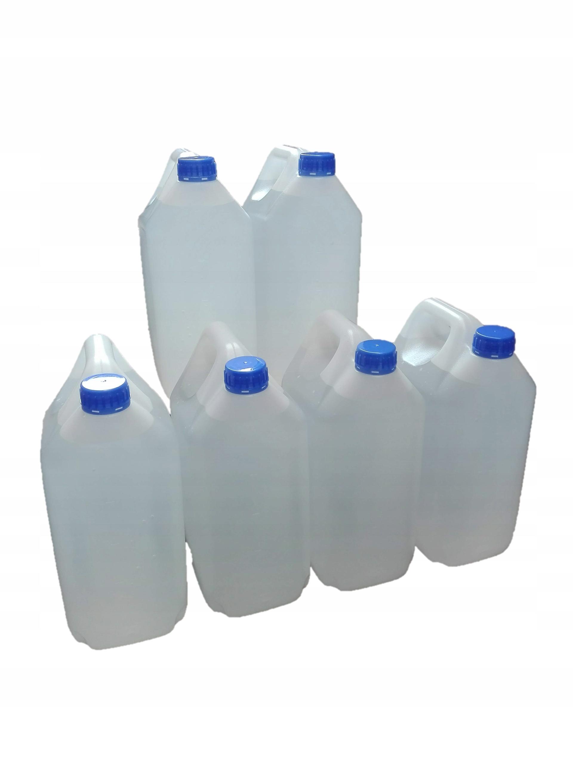Woda zdemineralizowana 20 kg 4x5 JAKOŚĆ