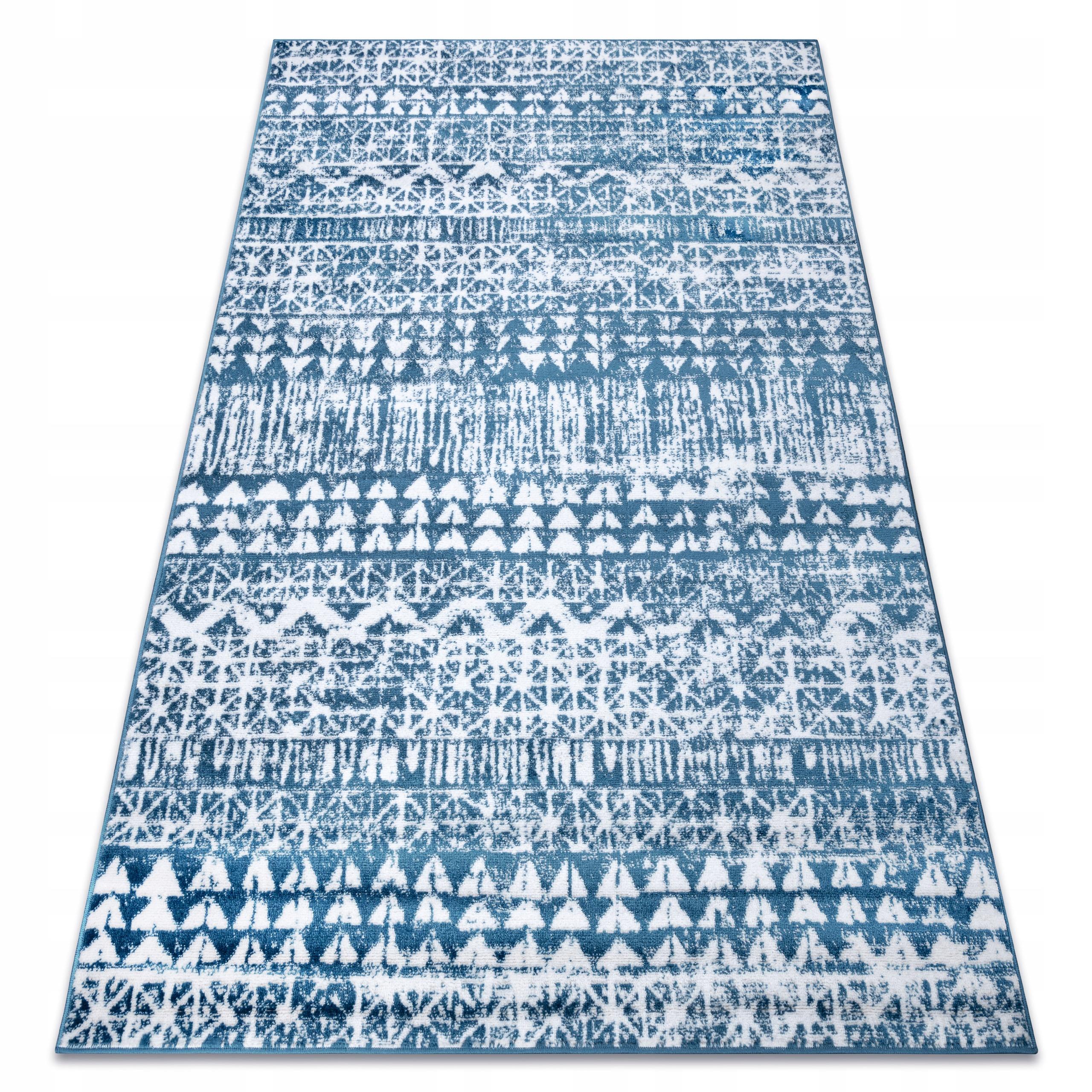 RETRO KOBEREC 120x170 cm VINTAGE blue #GR3356