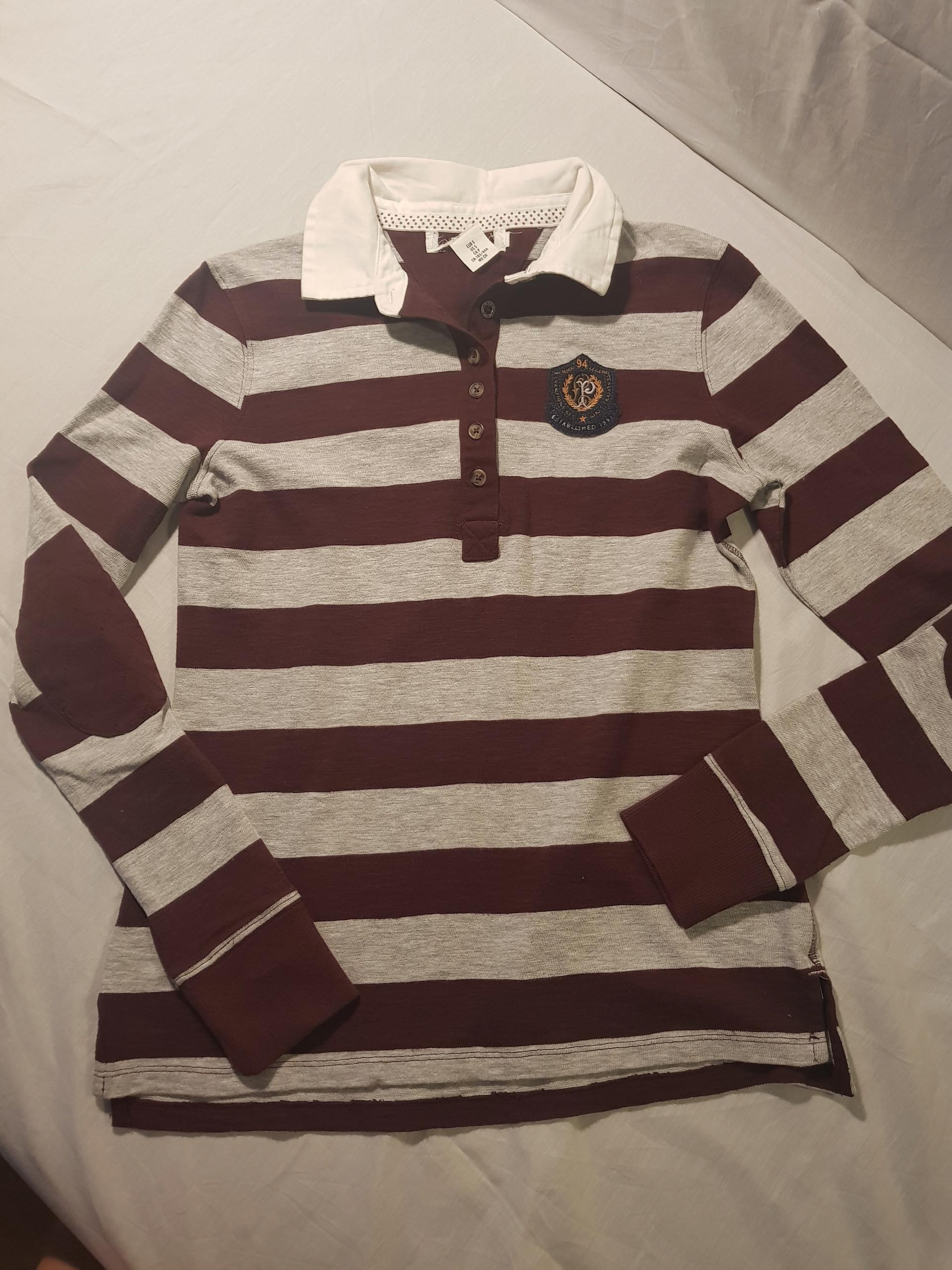 H&M bluza w paski 156 cm WYPRZEDAŻ SZAFY