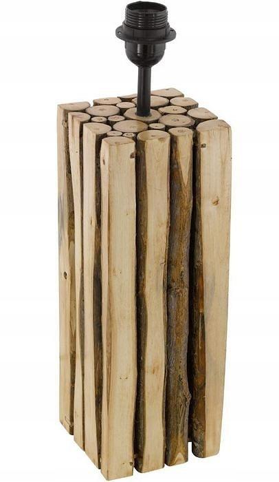 Stolná lampa tabuľka dreva EGLO RIBADEO 49831