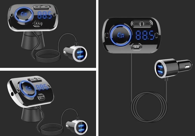 [Многофункциональный FM-ПЕРЕДАТЧИК 2x USB BLUETOOTH MP3]изображение 9