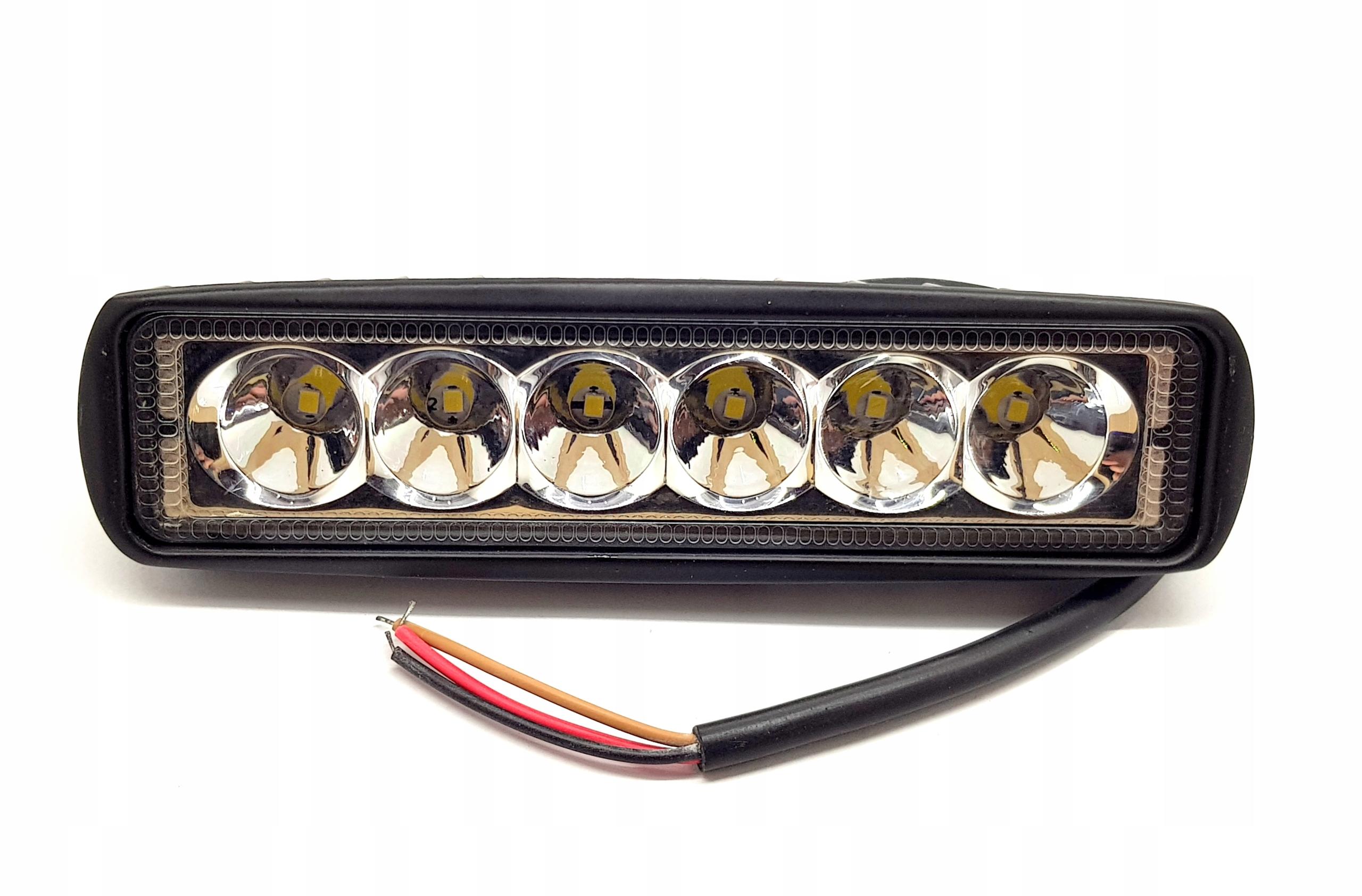 галоген led лампа многофункциональная панель offroad 18w