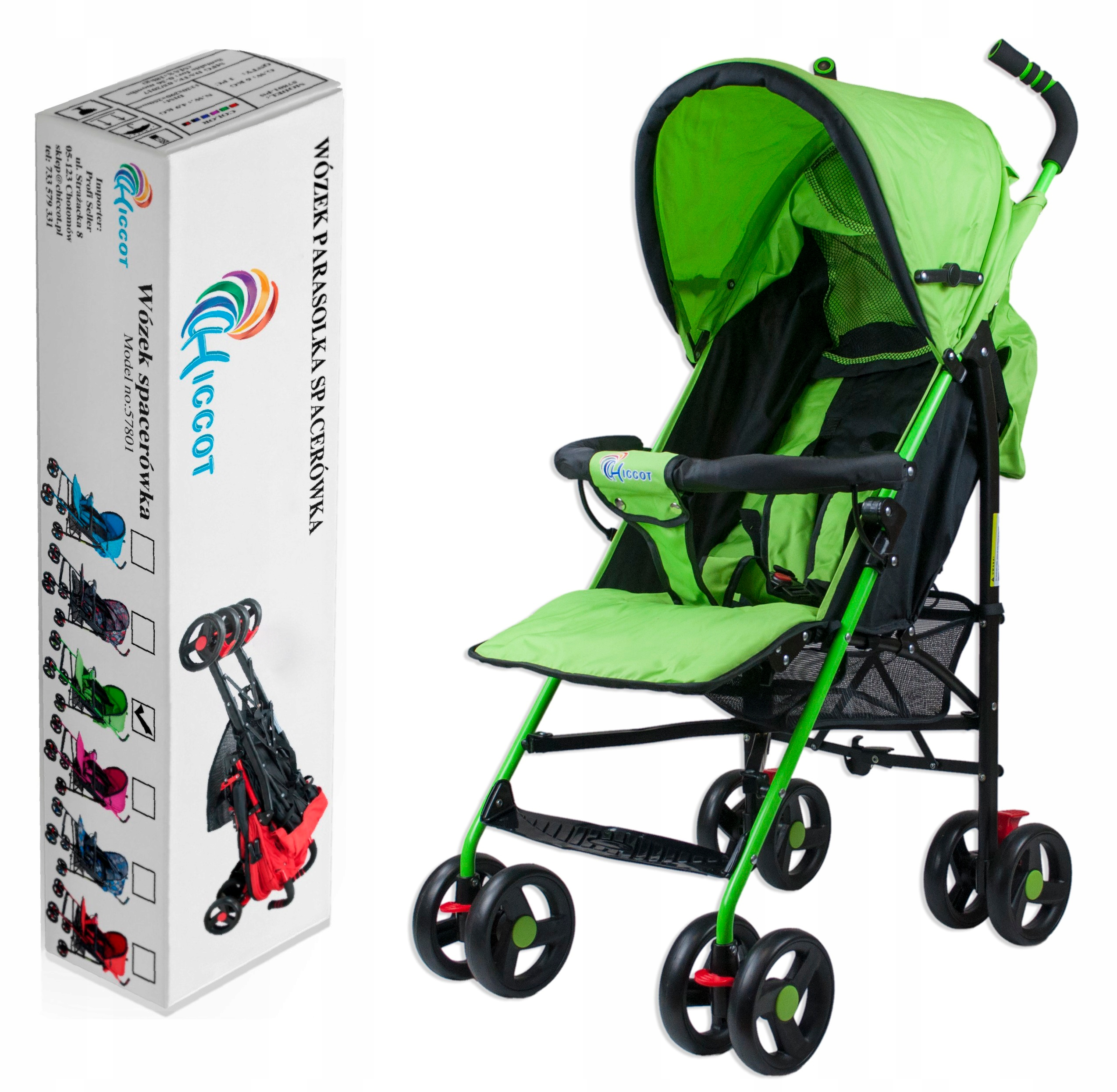 Item STROLLER EASY CHICCOT UMBRELLA STROLLER