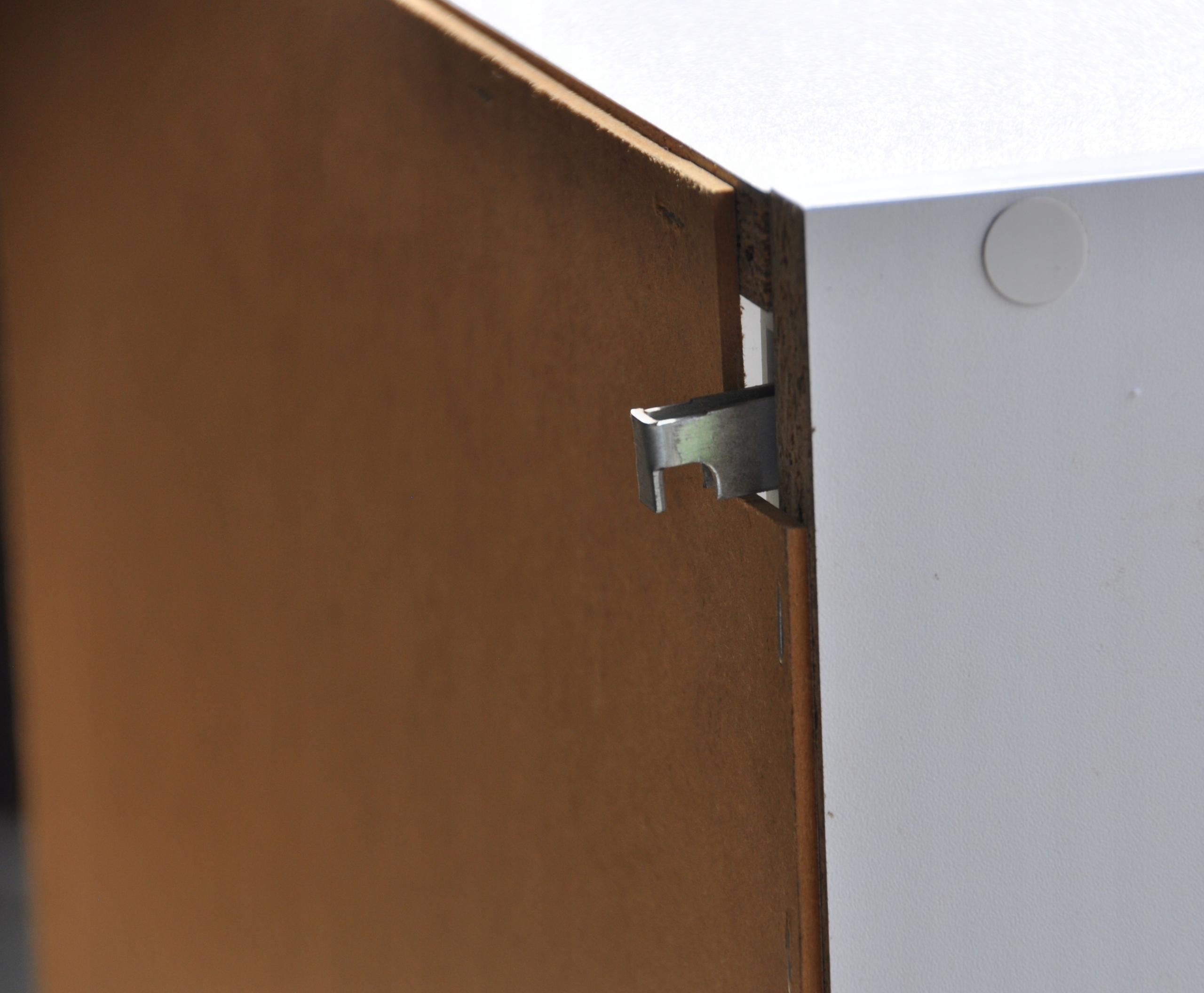 Szafka łazienkowa wisząca klapa połysk 80 Szerokość mebla 80 cm