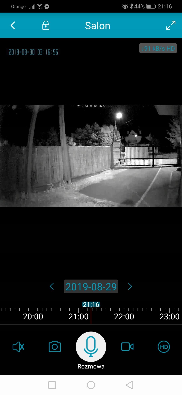Kamera Zewnętrzna BLOW IP WiFi 1080p Klasa szczelności kamery IP66