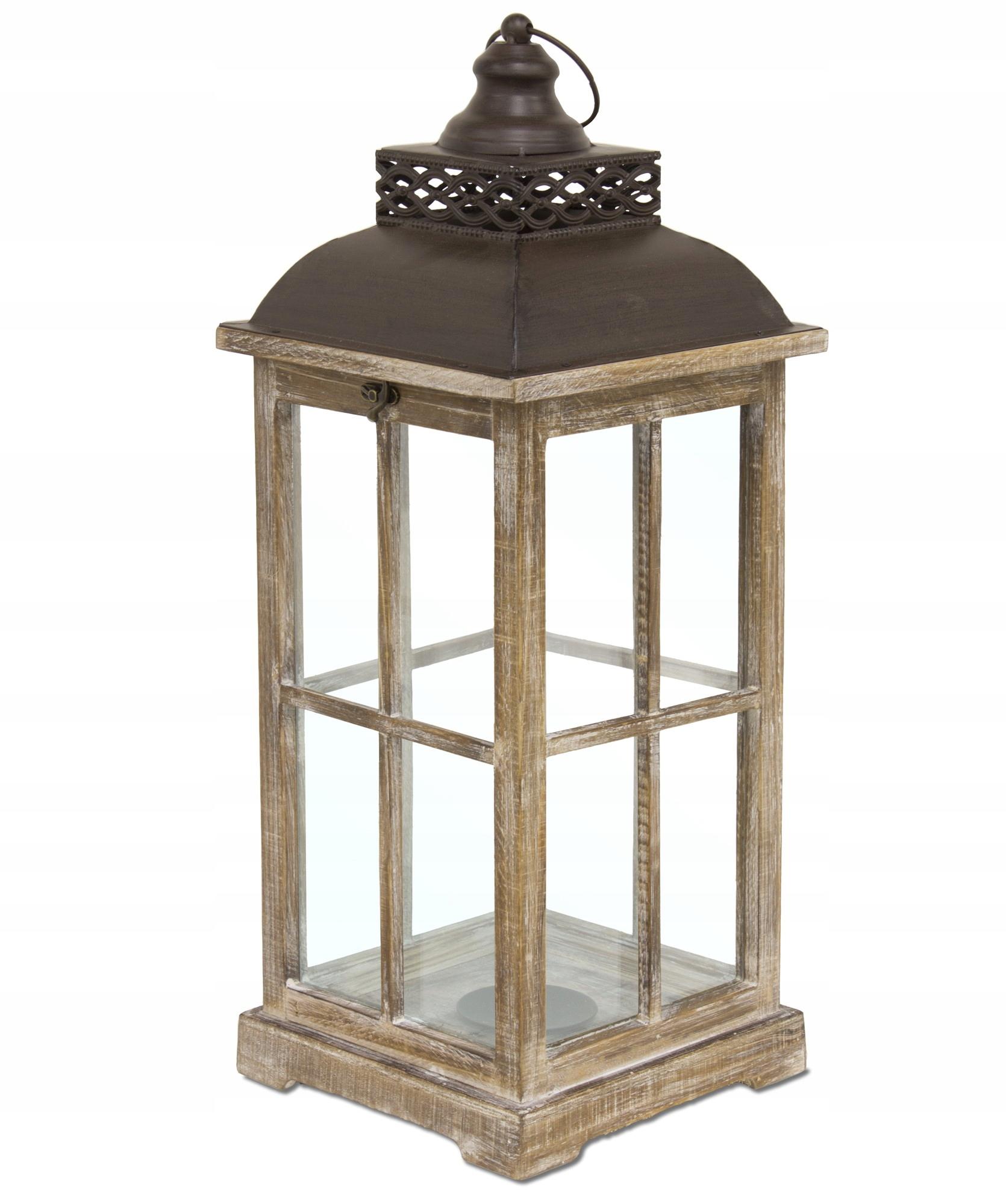 Svietidlá svietidla drevené hnedé 65 cm retro