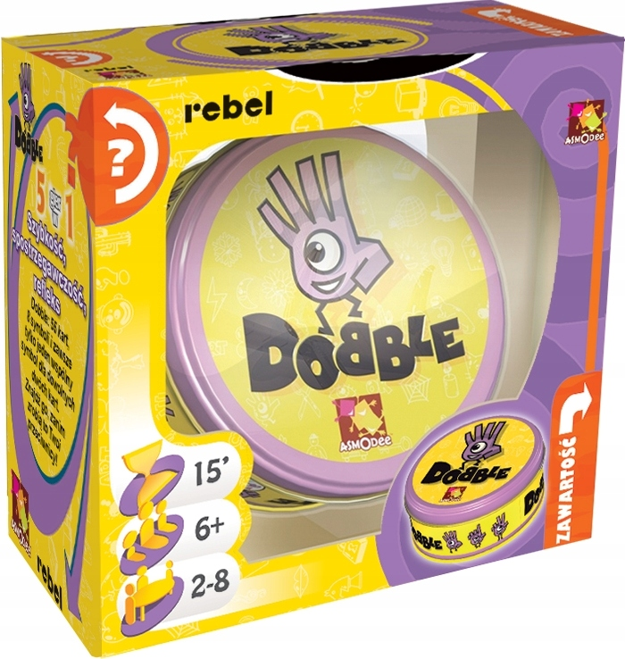 Item DOBBLE DOUBLE DOBLE REBEL BOARD GAME FOR PARTIES