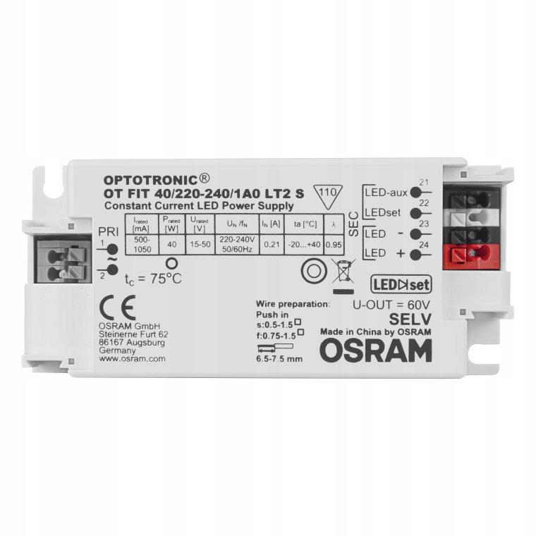 Блок питания OSRAM OT OPTOTRONIC FIT 40 / 220-240 / 1A LT2