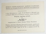 1974 GLIWICE WYSTAWA MUZEUM PIOTR JANIK FOTOGRAFIA