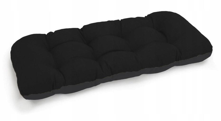 Подушка для садовой качели 100x50 чёрная