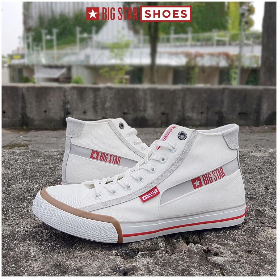 Trampki Big Star męskie białe buty EE174080 40