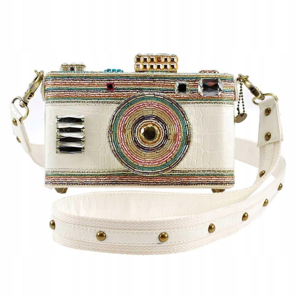 FOTOAPARÁT kabelku Mária Frances Vinobranie Ručne Vyrobené