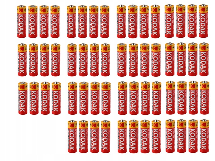 Купить 60x Батарейки Батарейки KODAK R03 R3 AAA 1.5V finger на Otpravka - цены и фото - доставка из Польши и стран Европы в Украину.