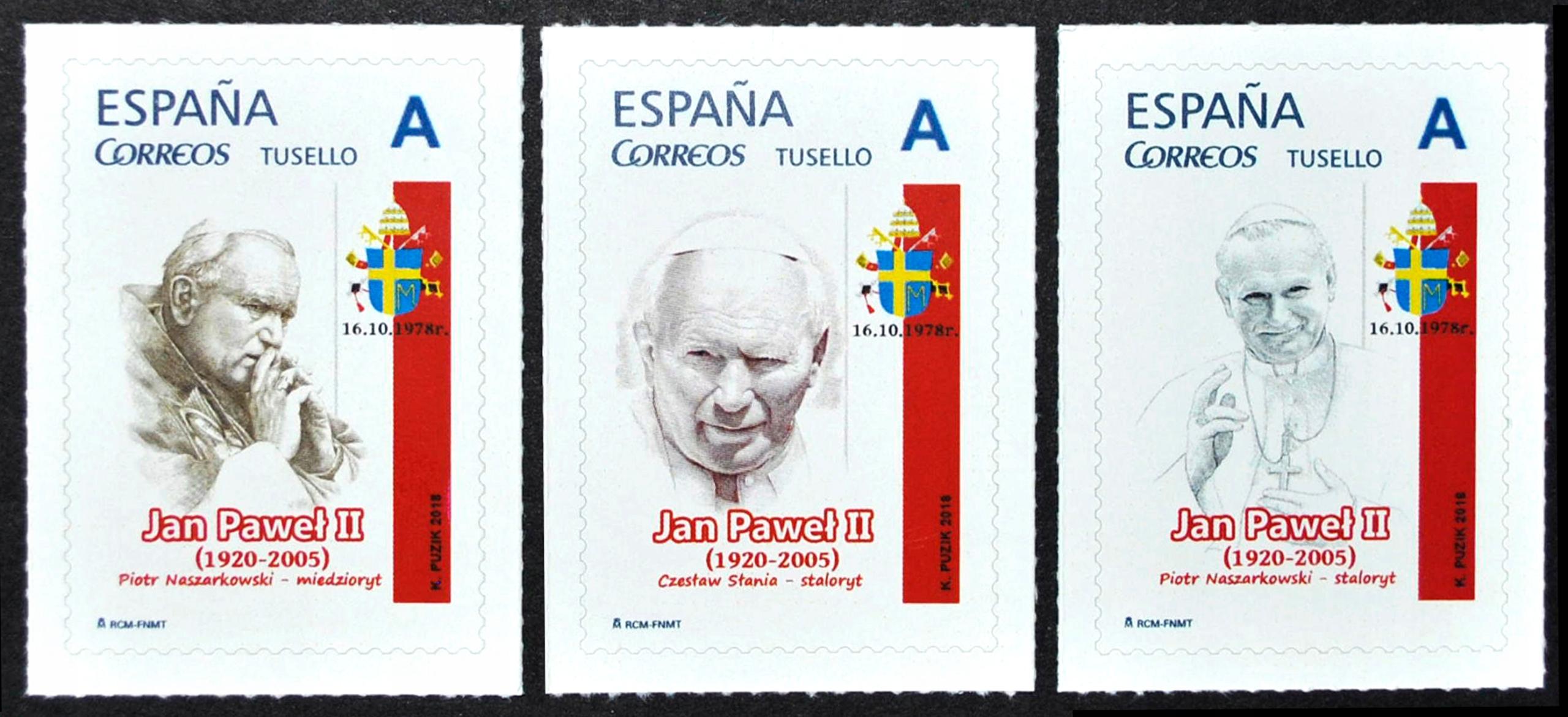 *KP* 40. годовщина Кароля Войтылы папой (ESP) доставка товаров из Польши и Allegro на русском