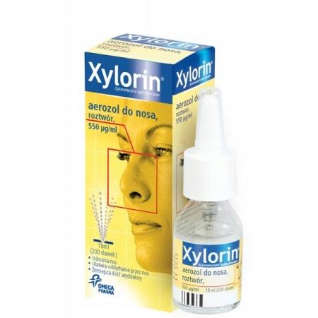 Купить Xylorin, 550 mcg/ml, aerozol do nosa 18 ml katar на Otpravka - цены и фото - доставка из Польши и стран Европы в Украину.
