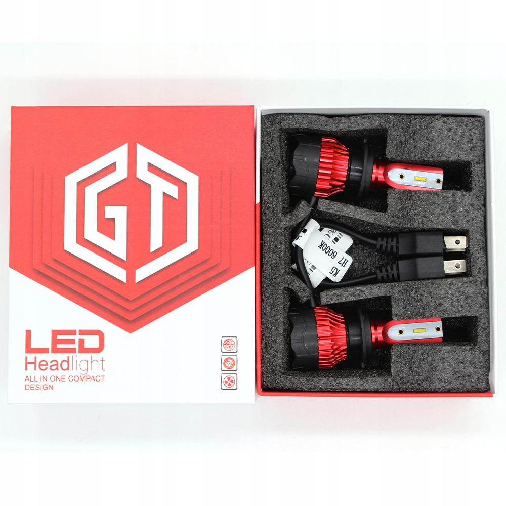 [ЛАМПОЧКИ LED H7 GT COB +300% SUPER MOCNA ЛАМПОЧКА]изображение 6