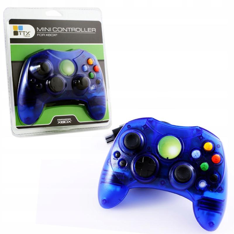 Купить Mini Classic Controller for Original Xbox Blue на Otpravka - цены и фото - доставка из Польши и стран Европы в Украину.