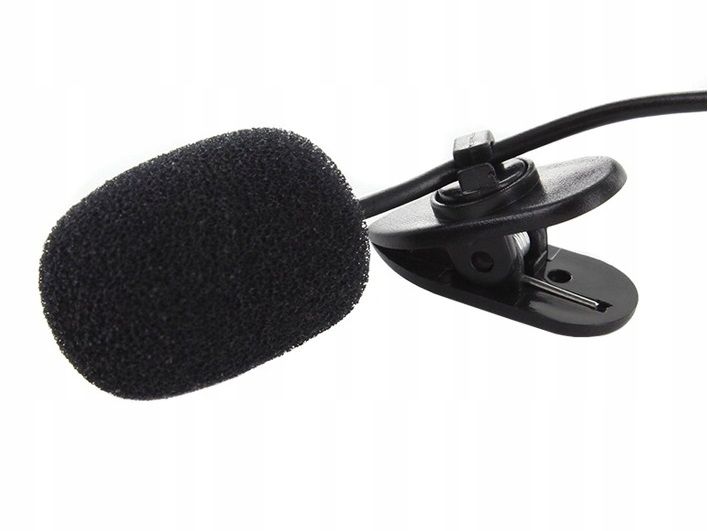 Item BE8 KRAWATOWY EXTERNAL MICROPHONE 3.5 mm CLIP