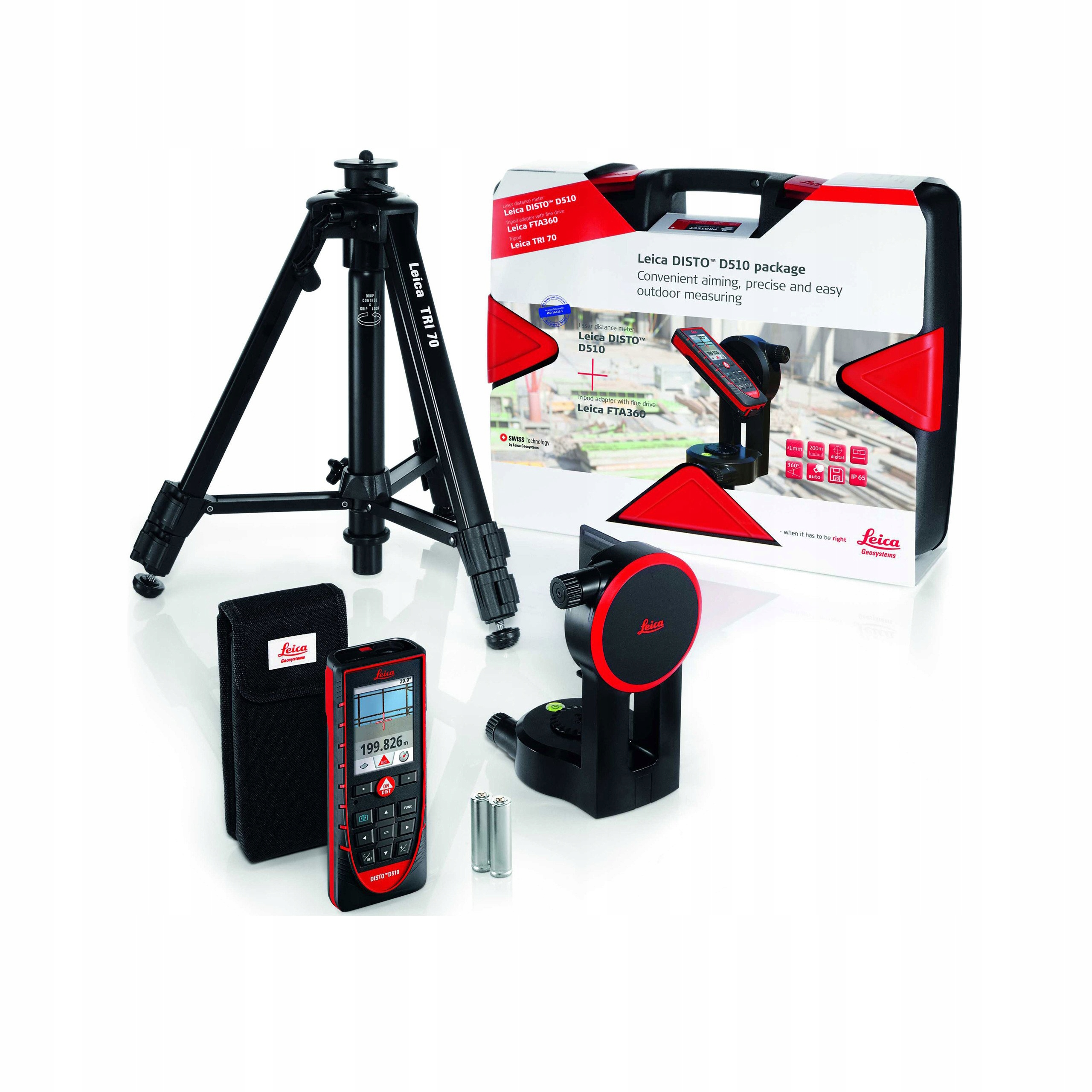Dalmierz laserowy Leica Disto D510 Pro Pack