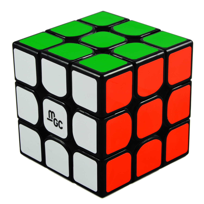 Kocka 3x3x3 YJ MGC magnetická čierna!