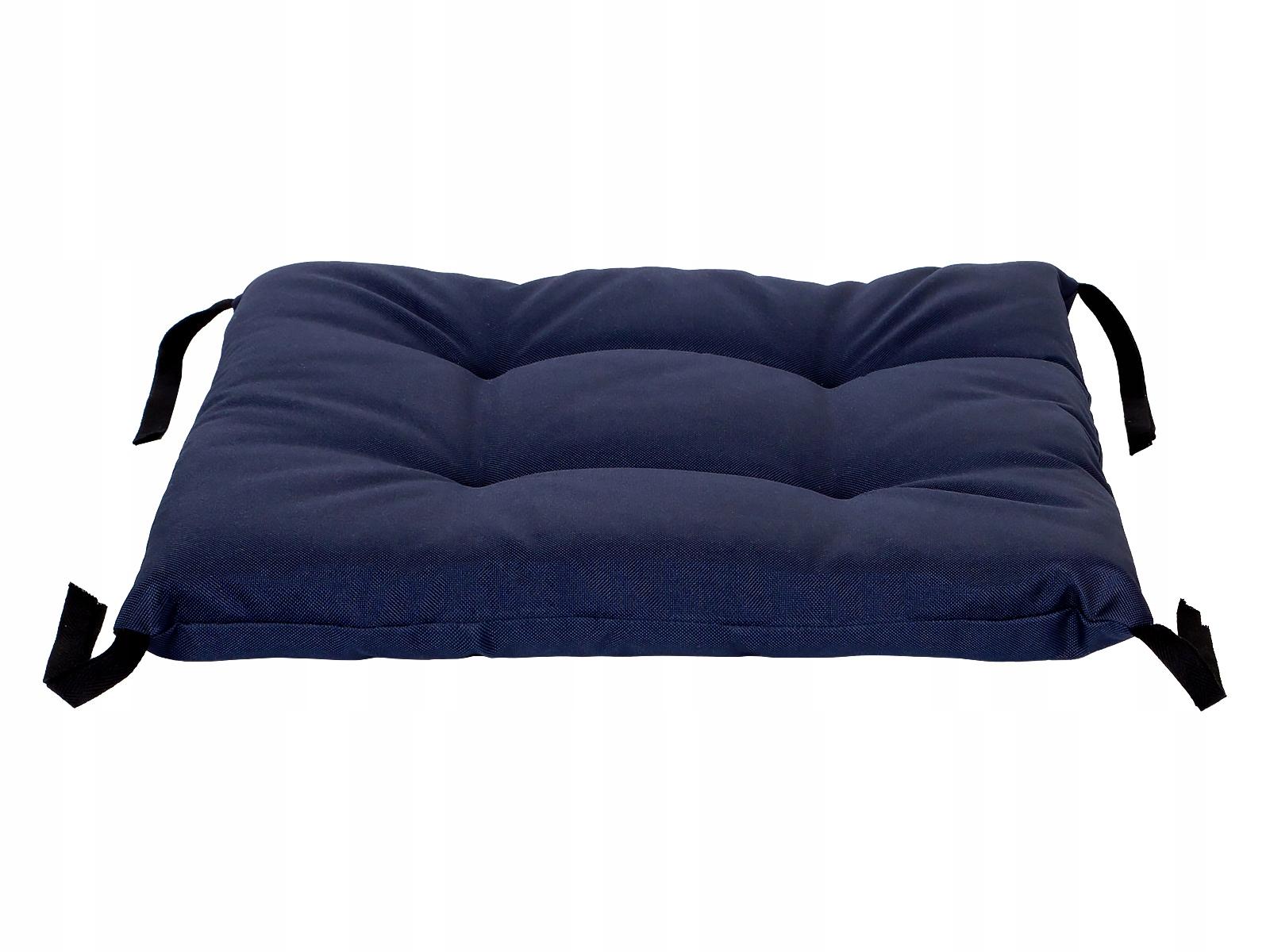 Подушка на стул для сада 35x35 со строками