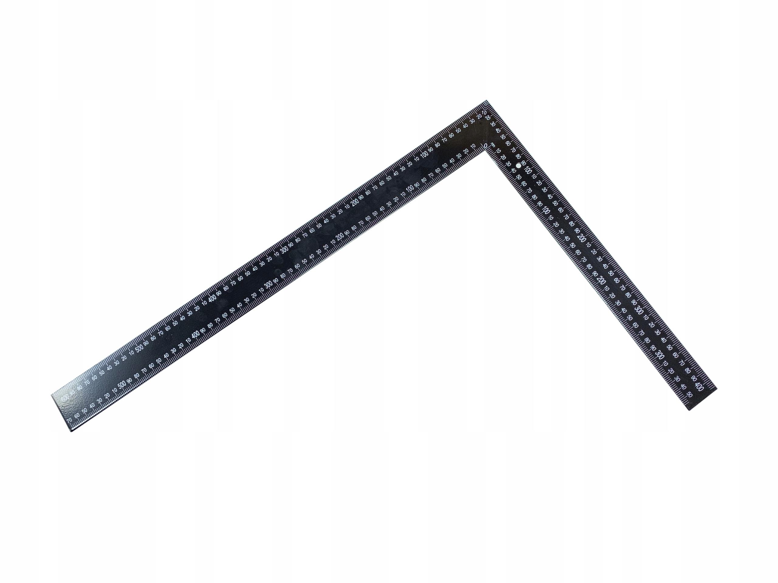 KĄTOWNIK STOLARSKI DACHOWY STALOWY DUŻY 600x400 mm