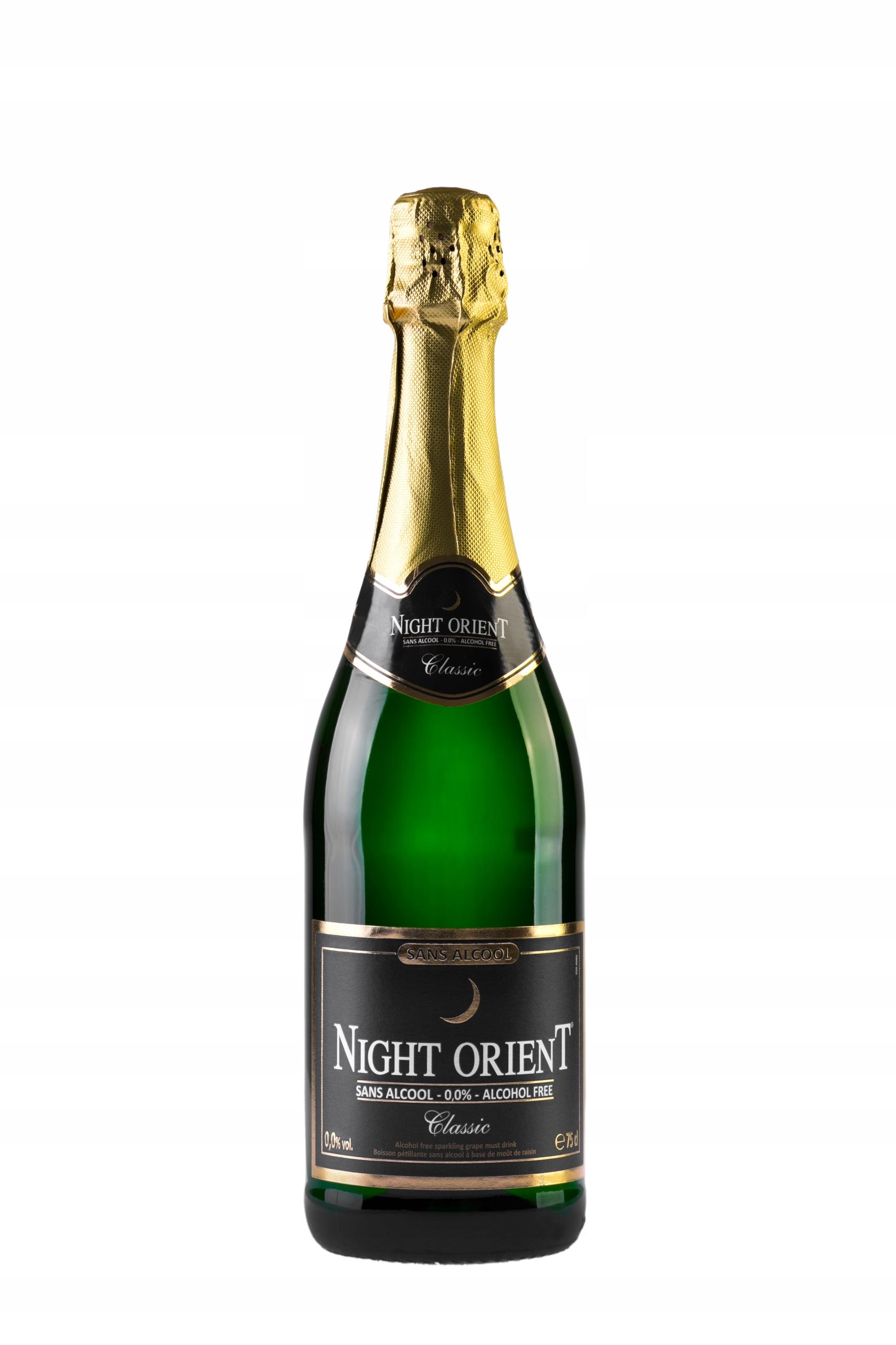 NIGHT ORIENT CLASSIC Безалкогольное игристое вино