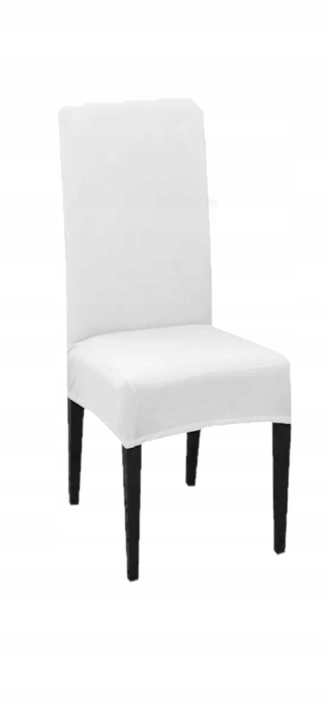 Купить Эластичные чехлы на стулья цвет белый на Otpravka - цены и фото - доставка из Польши и стран Европы в Украину.