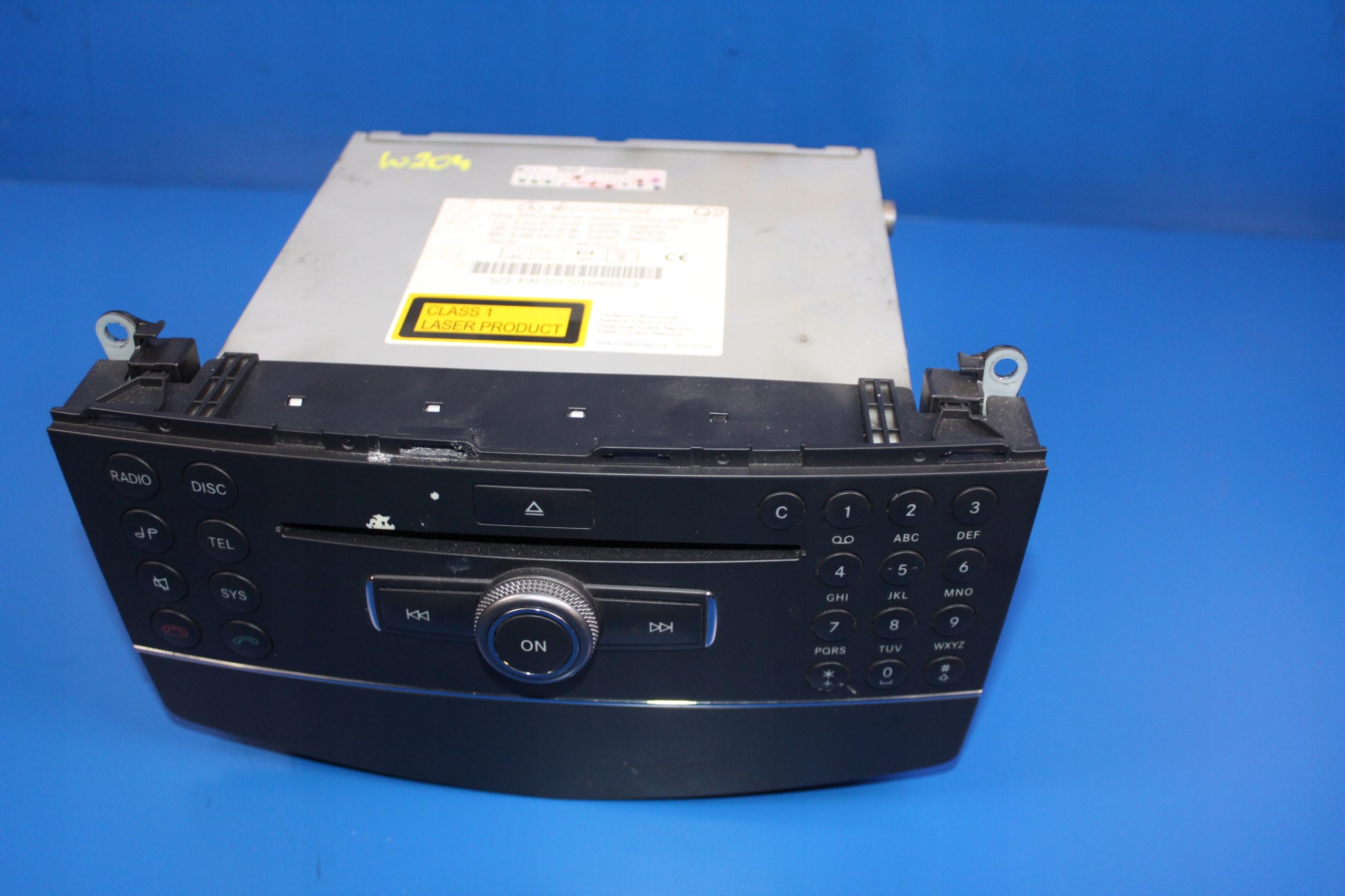 mercedes w204 радио cd навигация a2048700594