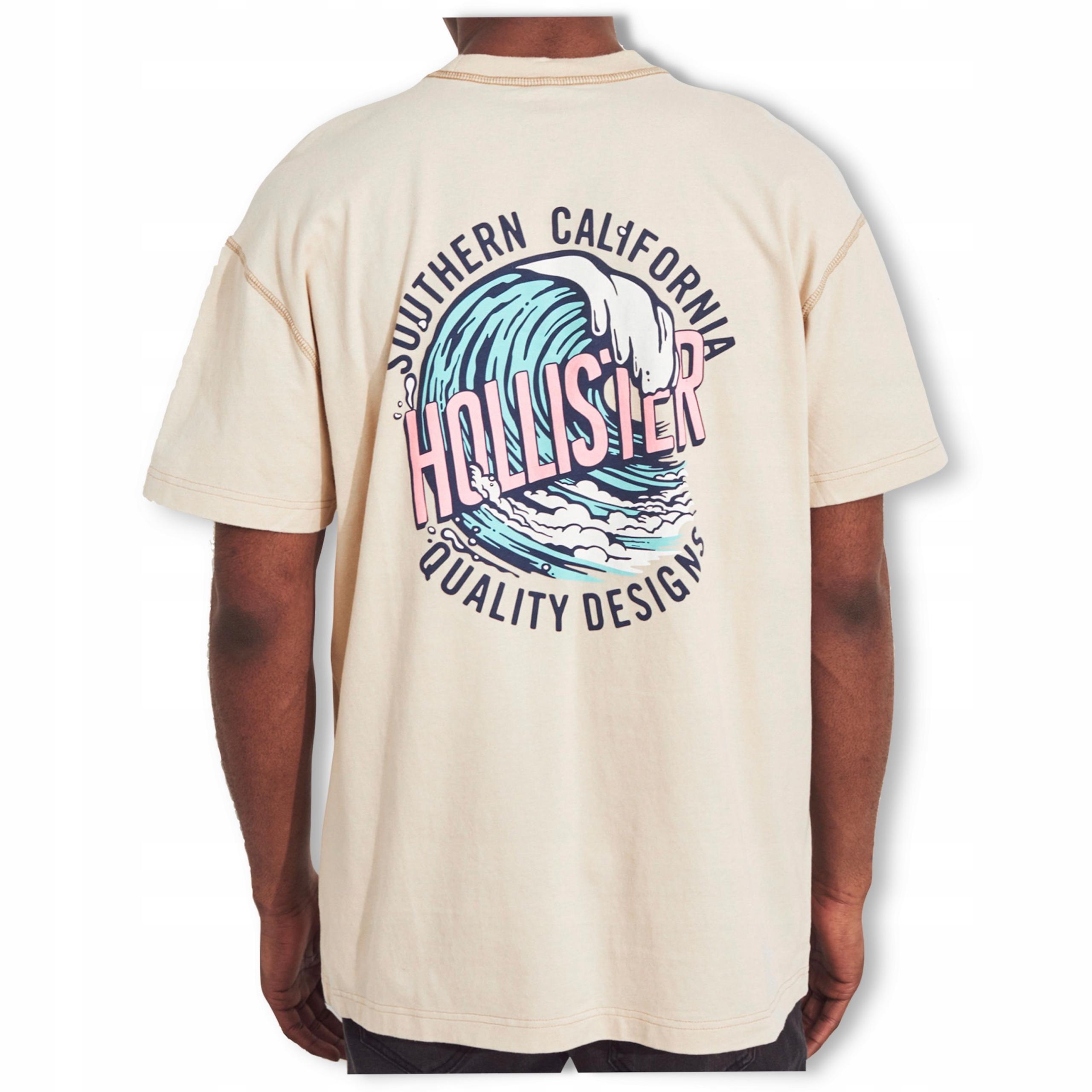 футболка HOLLISTER Abercrombie Logo USA L