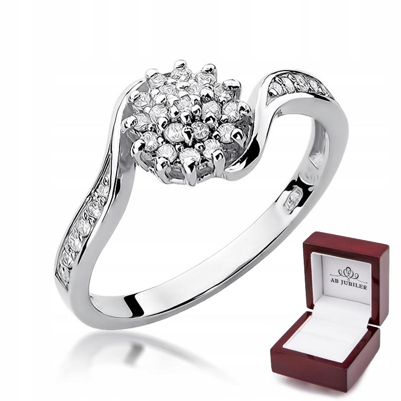 Krúžok Diamant 0.26 ct-11