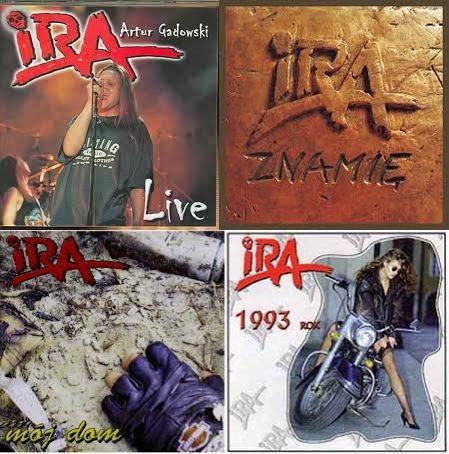 4 CD IRA Live Znamię Mój Dom 1993 rok FOLIA