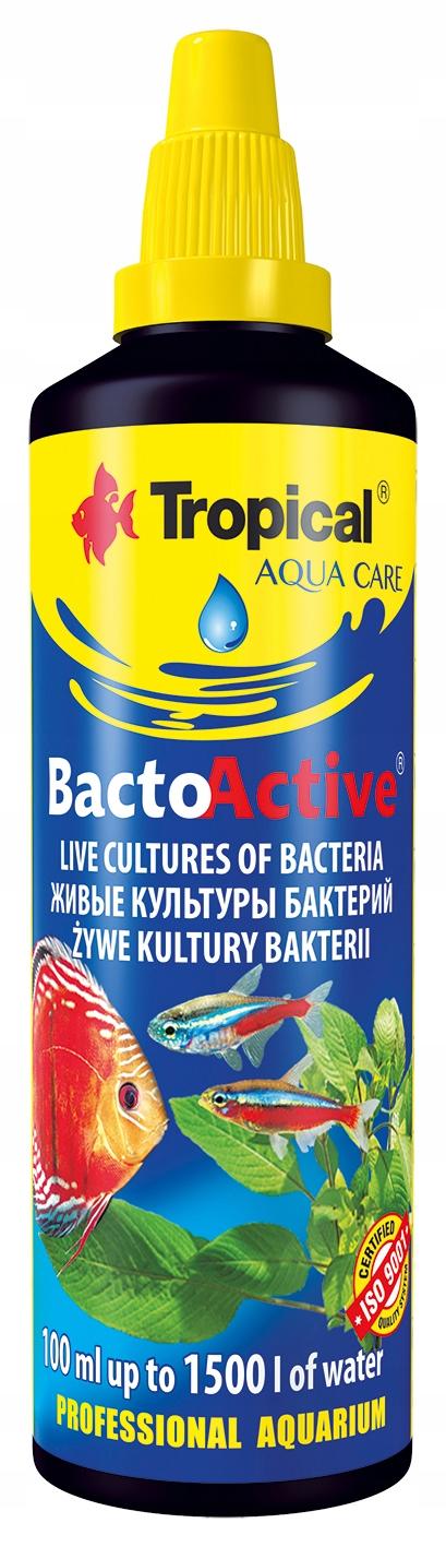 TROPICAL BACTO ACTIVE 100ml BAKTERIE BIOSTARTER