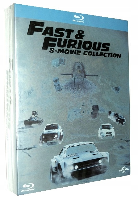 Item COLLECTION the fast and the FURIOUS 1-8 (8 x BLU-RAY)