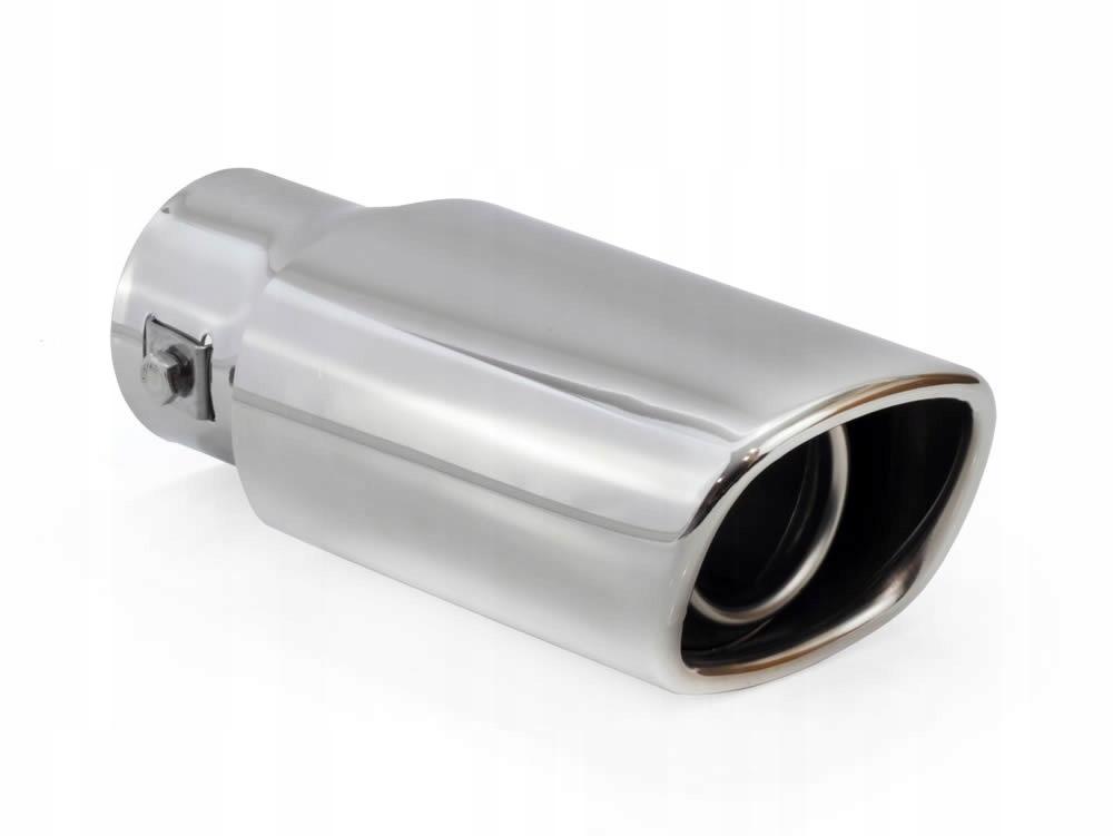 наконечник глушителя сталь сталь овальная скос 8166
