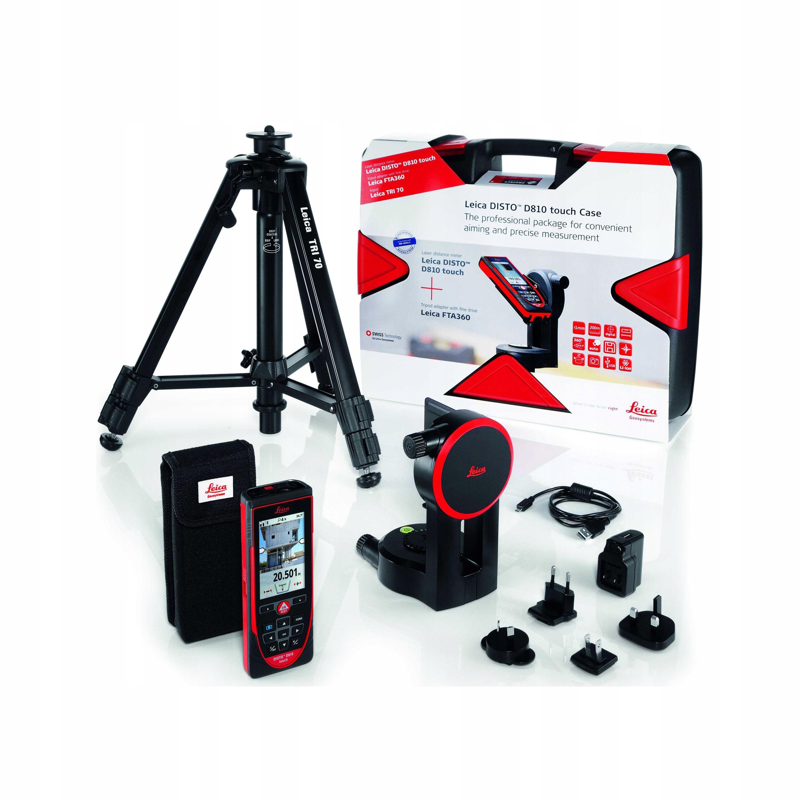 Leica Disto D810 Touch Pro Pack Laser RangeFinder