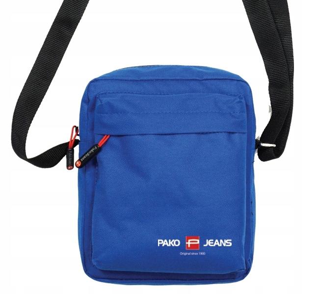 Mała torba listonoszka niebieska Pako Jeans