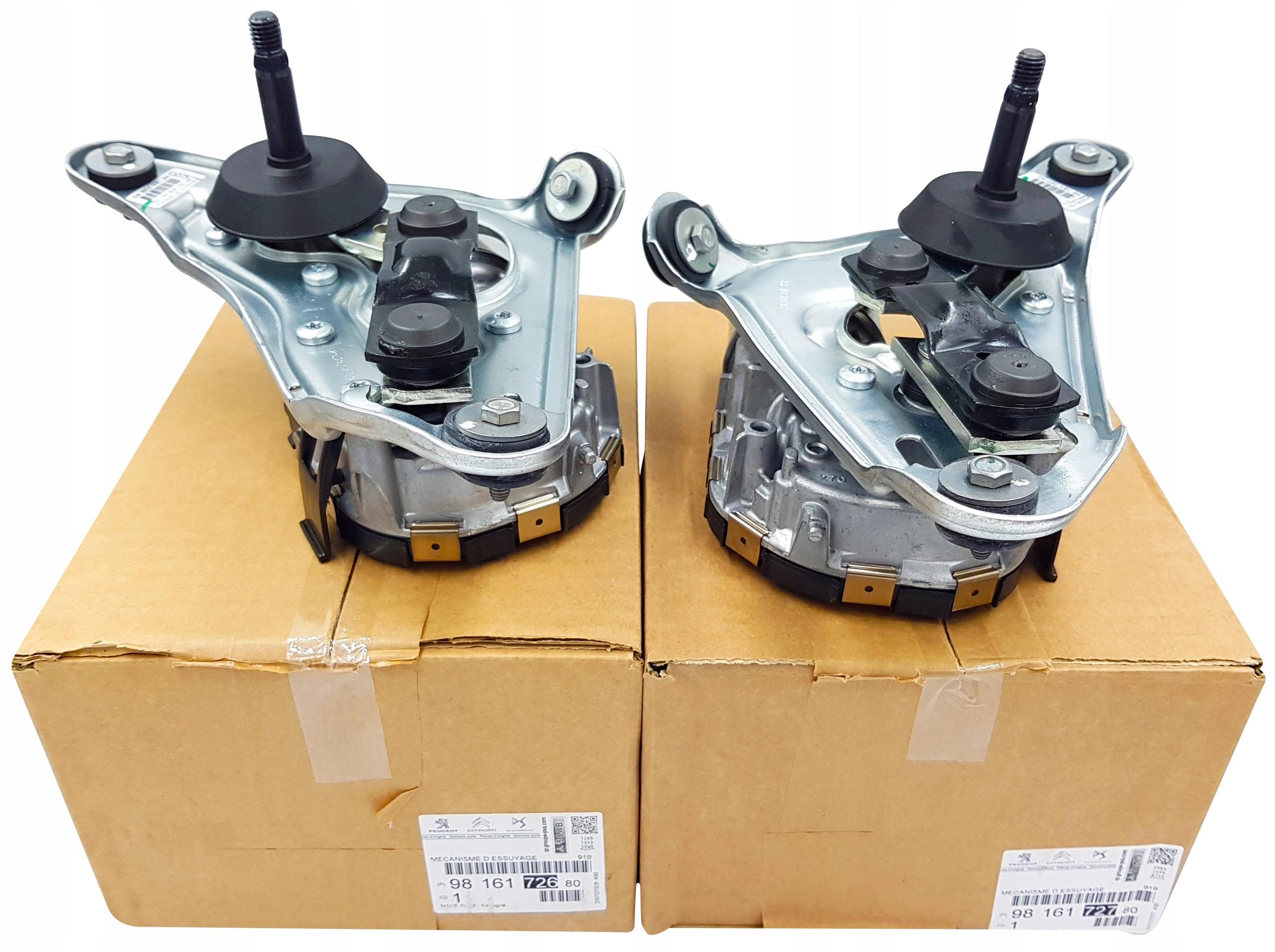 peugeot 508 двигатель стеклоочистителя левый правый оригинал